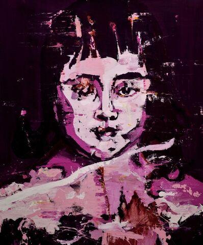 Lars Teichmann, 'Pink Portrait', 2018
