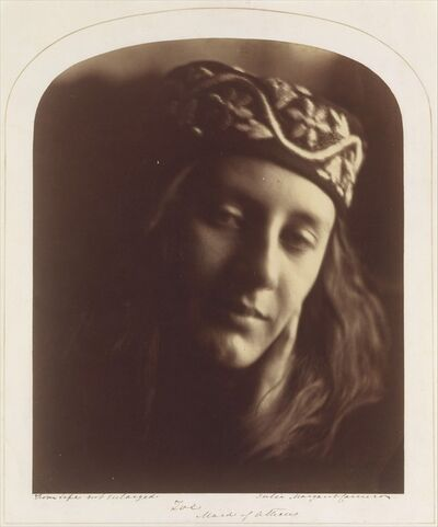 Julia Margaret Cameron, 'Zoe, Maid of Athens', 1866