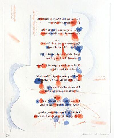 David Hockney, 'Made in April', 1976-77