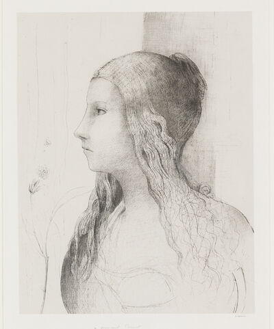 Odilon Redon, 'Brunnhilde (Crepuscule des dieux)', 1894