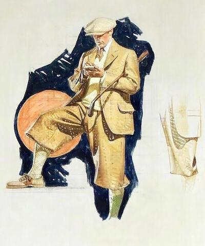 Joseph Christian Leyendecker, 'Kuppenheimer Study ', 1924