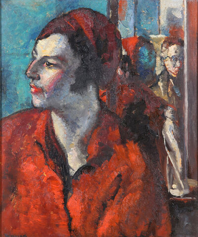 Alfred Wolmark, 'Portrait of a female', Painted in 1932.