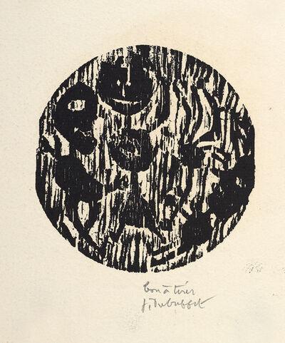 Jean Dubuffet, 'Vignettes Lorgnettes - Trois Personnages', 1948