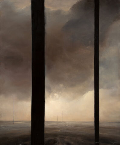 Dozier Bell, 'Untitled (Five Pillars)', 1988