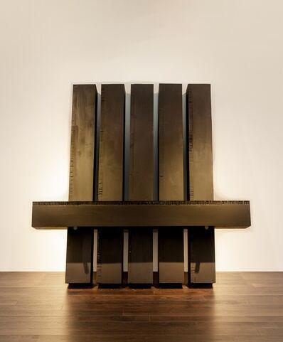 Noriyuki Haraguchi, 'Six Square Pillars', 2019