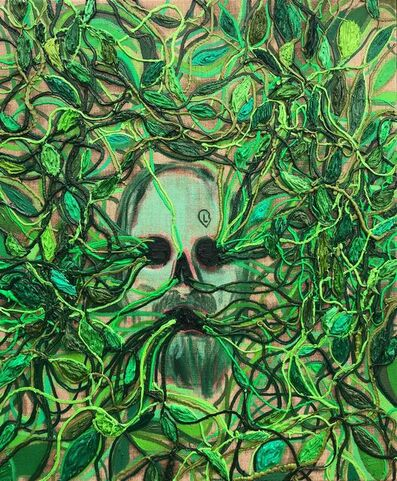 Kim Dorland, 'The Green Man ', 2019