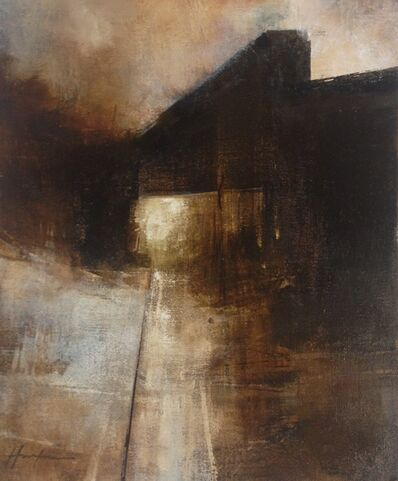 Charlie Hunter, 'January Bridge (Vertical Study 1)', 2018