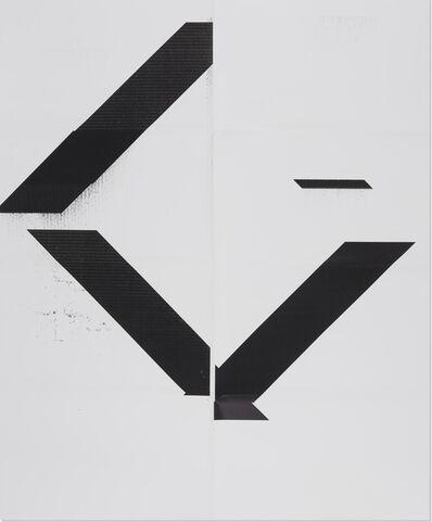 "Wade Guyton, 'X Poster (Untitled, 2007, Epson UltraChrome inkjet on linen, 84x69"", WG1208), 2017', 2017"