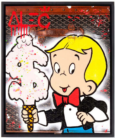 Alec Monopoly, 'Richie ice cream goyard suitcase ', 2019