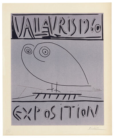 Pablo Picasso, 'Vallauris 1960 Exposition', 1960