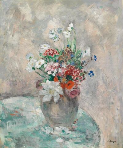 Henri Lebasque, 'Fleurs dans un vase', ca. 1920