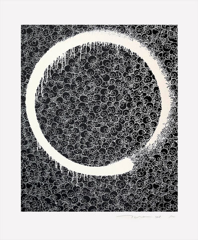Takashi Murakami, 'Enso: Facing the Pitch Black Void', 2018