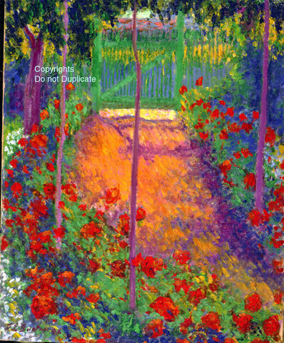 Theodore Earl Butler, 'Entrance to the Garden Gate', 1898