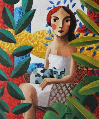 Didier Lourenço, 'In the garden', 2019
