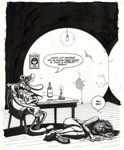 Peter Bagge, 'Neat Stuff #2 back cover'