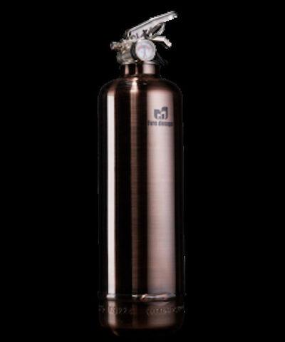 Jaler Fine Art, 'Extinguisher LUXURY Brushed Copper', 2020