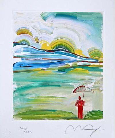 Peter Max, 'Umbrella Man at Sunrise', 2001