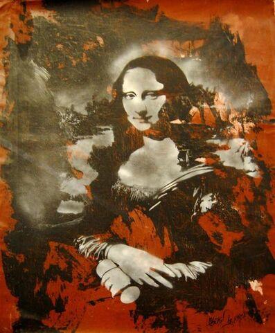 Blek le Rat, 'Mona Lisa ', 2016