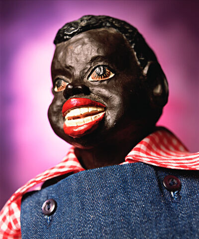 "Andres Serrano, '""Black Dolls - Chuck"" Vintage Rag Doll (Infamous)', 2019"