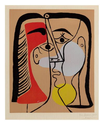 Pablo Picasso, 'Portrait de Jacqueline aux cheveux lisses', 1962
