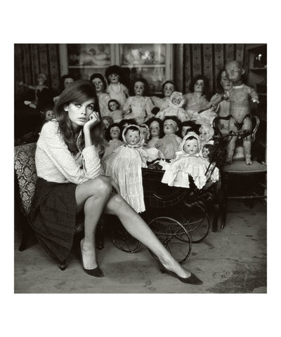 Terry O'Neill, 'Jean Shrimpton at a Doll's Hospital, London', 1964