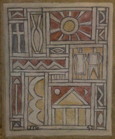 Joaquín Torres-García, 'Constructive Fresco', 1942
