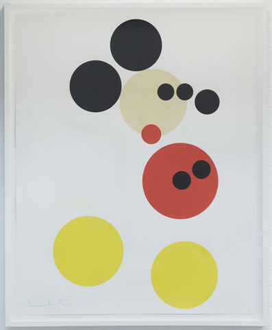 "Damien Hirst, 'Mickey"" large version Ed. 50', 2014"