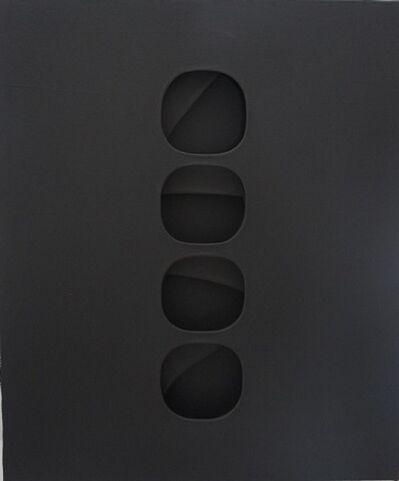 Paolo Scheggi, 'Intersuperficie curva nera', 1966