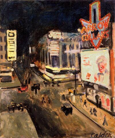 Alexander Calder, 'Fourteenth Street', 1925