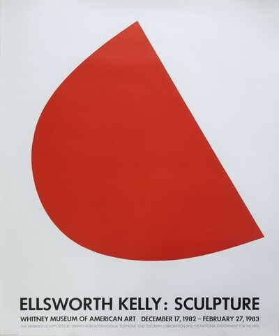 Ellsworth Kelly, 'Sculpture, Whitney Museum of American Art', 1982