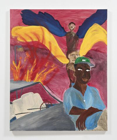 Marcus Leslie Singleton, 'Wire Winged Saint', 2020