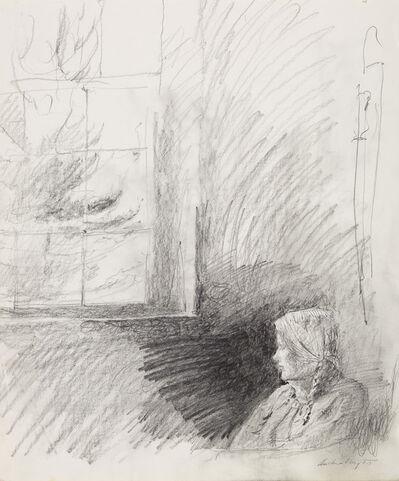 Andrew Wyeth, 'Housebound Study (Helga)', 1986