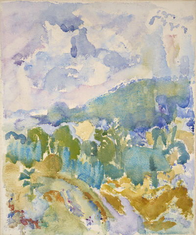 John Marin (1870-1953), 'Hudson River Valley', 1911