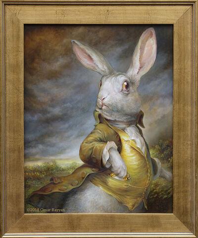 Omar Rayyan, 'White Rabbit', 2018