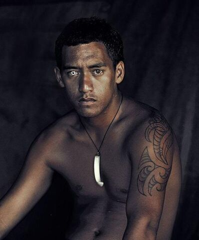 Jimmy Nelson, 'IX 137 - Robert Davis - Bay of Islands, North Island - New Zealand ', 2011