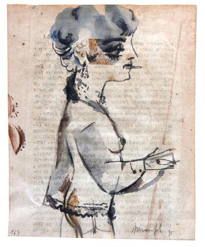 ALBERTO MANFREDI, 'Senza titolo', 1970