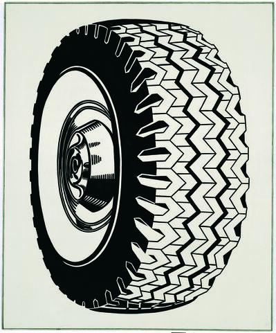 Roy Lichtenstein, 'Tire', 1962