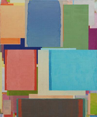 Benjamin Appel, 'Den Tisch in dieEcke stellen 68', 2018