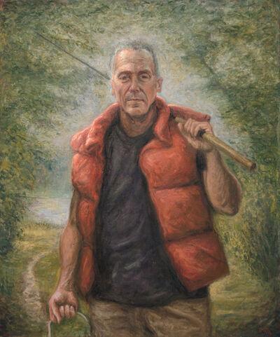 Dustin Neece, 'Man Fishing', ca. 2000