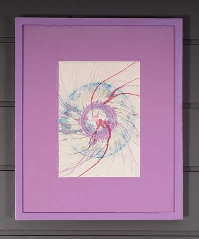 Damien Hirst, 'Unique Spin Drawing', 2001