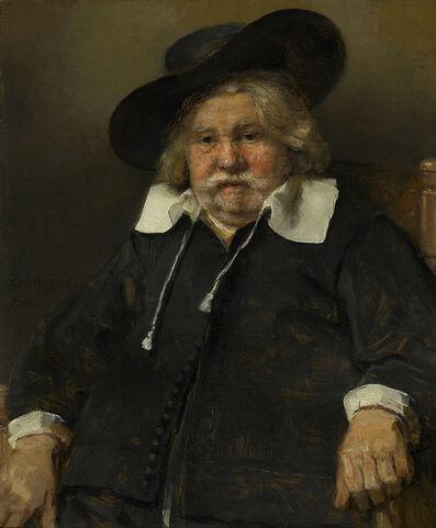Rembrandt van Rijn, 'Portrait of an Elderly Man', 1667