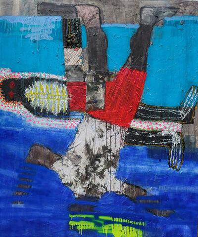 Bob-nosa, 'Men drowning II', 2019