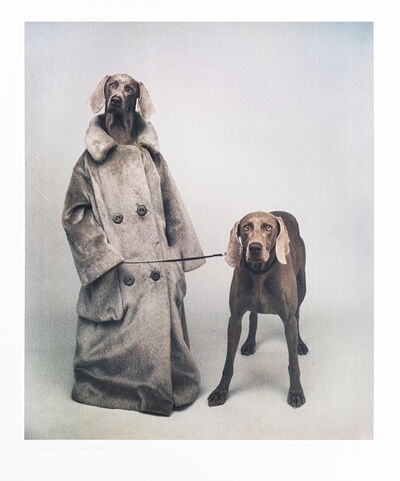William Wegman, 'Dog Walker', 2020
