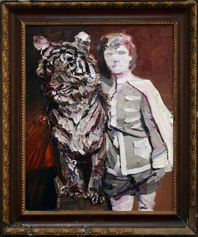 Nigel Mullins, 'Mabel Stark & Tiger', 2018
