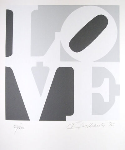 Robert Indiana, 'The Book of Love'