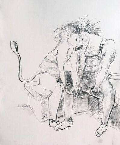 Elena Tejada-Herrera, 'Lions kissing', 2018