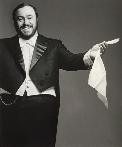 Francesco Scavullo, 'Pavarotti (1977)', 2004