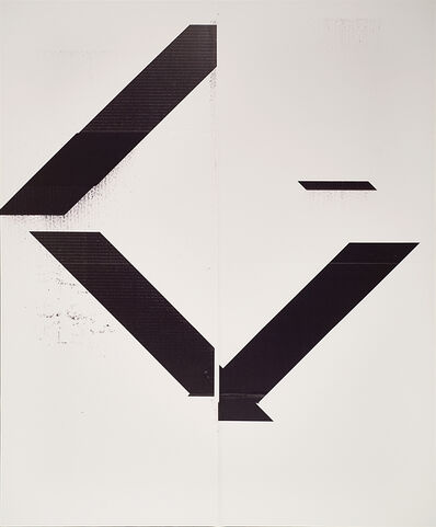 Wade Guyton, 'X Poster (Untitled, 2007, Epson UltraChrome inkjet on linen, 84 x 69 inches, WG1999)', 2017
