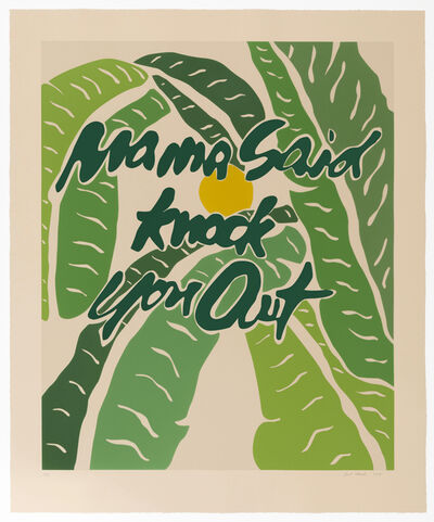 Joel Mesler, 'Mama Said Knock You Out', 2018
