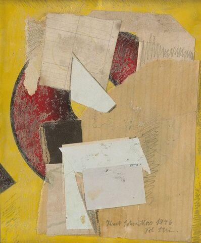 "Kurt Schwitters, '""C 62 Til Stri""', 1946"
